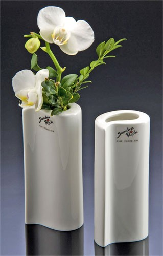 porzellan vase solo 13 weiss porzellan glas porzellan. Black Bedroom Furniture Sets. Home Design Ideas